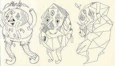 Character Sketches by uberkraaft, via Flickr