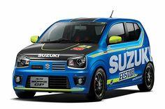 スズキ、カーボンボンネット採用の「アルト ワークス GP」を東京オートサロン2016に出品 - Car Watch