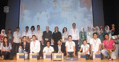 أبوغزاله يرعى في مدارس اليوبيل حفل نتائج المسابقة الثالثة عشرة للإبداع الشبابي في التصميم الإلكتروني