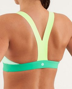 Lululemon Sandy Savasana Top, awesome t-back sports bra.