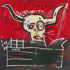 Cabra By Basquiat, private collection: Yoko Ono