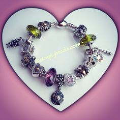 Pandora Always In My Heart Limited Edition TwoTone Heart Charms and Beads