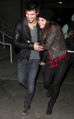 Marie Avgeropoulos & Taylor Lautner