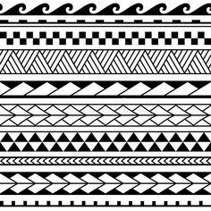 Maori Tattoos, Polynesian Tattoos Women, Polynesian Tattoo Designs, Maori Tattoo Designs, Polynesian Art, Sleeve Tattoos, Tribal Pattern Tattoos, Geometric Tattoo Arm, Mom Dad Tattoo Designs