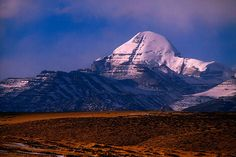 Mt. Kailas  The height of mountain Kailas is 6,638 m. It is located in Tibet and in China. Kailas is famous as a holy mountain to Hinduism, Buddhism and Tibetan.