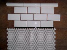 bathroom decor More Bathroom Flooring, Cheap Home Decor, Bathroom Inspiration, Home Decor Catalogs, Home Decor Online, Cottage Bathroom, Bathroom Decor, Vintage Bathrooms, 1930s Bathroom