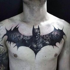gamer tattoos guy tattoos tattoos for men batman tattoo batman symbol ...