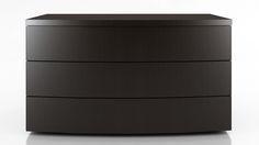 Modern Wenge Finish Siena Dresser | Zuri Furniture