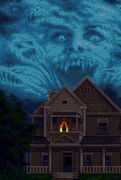 Omg omg Fright Night Pixel Art fangirling majorly