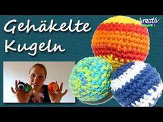 Häkeln für Anfänger: Kugel und Bälle häkeln | kreativbunt