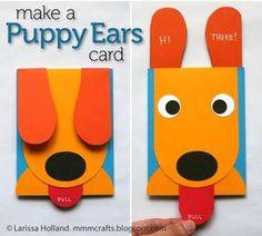 Pop-Up Puppy Card