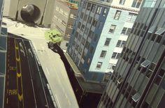 "Saatchi Online Artist: Matthew Carter; Oil, Painting ""Vanishing point [tunnel]"""