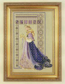 Bonito gráfico de Hada de las Estaciones: Primavera...