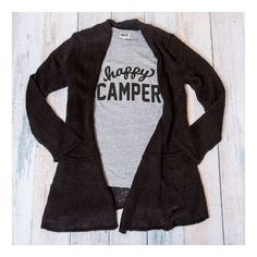 Happy Camper is back in stock but going fast! #happycamper #getyours #tees #liveastylishlife
