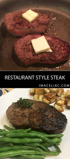 Restaurant Style Steak at home