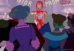 Pin for Later: These Scary Disney Princesses Will Make You Shiver Cinderella as Carrie