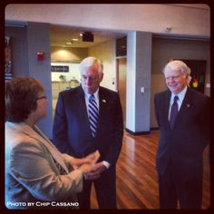 President Miyares and Provost Cini are hosting Cong. Steny Hoyer today at our Largo Campus. #UMUCPhotoOfTheDay