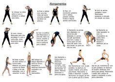 Alongamentos: exercícios para aumentar a flexibilidade muscular que possibilita…