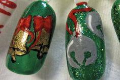 Christmas Nails 9 (Holiday Bells)
