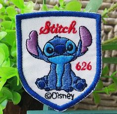 Disney Stitch 55 x 67 cm Embroidered Iron On Patch by SukiDesign, $3.99