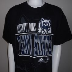 Penn State Nittany Lions T-Shirt Extra Large XL 1993 NCAA College Sports #ApexOne #PennStateNittanyLions