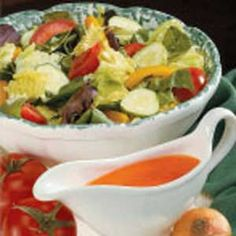 french salad dressing made with tomato soup. Awesome.
