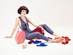 La primera colección de zapatos de Mansur Gavriel.