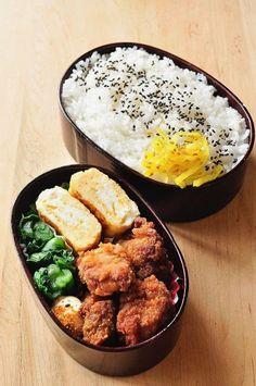 Japanese Bentos are life Think Food, I Love Food, Good Food, Yummy Food, Asian Recipes, Real Food Recipes, Cooking Recipes, Manger Healthy, Bento Recipes