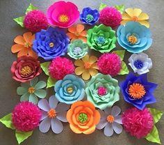 flores gigantes de CARTULINA - Buscar con Google
