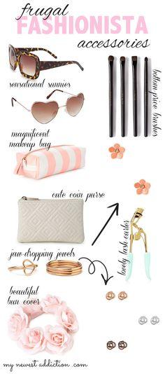 Frugal Fashionista: Accessories - My Newest Addiction Beauty Blog