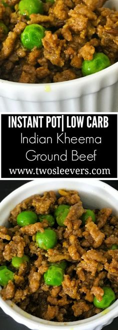 Instant Pot Keto Indian Kheema , Instant Pot Keto recipe for Indian Kheema |twosleevers.com. Easy family-friendly keto dish that's gluten-free, keto, paleo and done in under 30 minutes. keto paleo diet