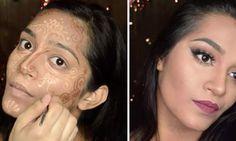 Tendencia De Maquillaje: Contornear El Rostro Inspirado En Los Tatuajes De Henna