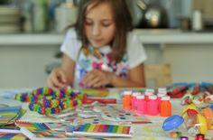 Rainbow Party Ideas: rainbow theme party