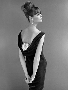 Jean Shrimpton Evening Dress 1960