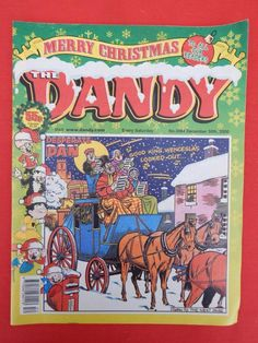 Dandy Christmas/NY edition Comic 30th December 2000 - Nostalgic/retro gift - VGC