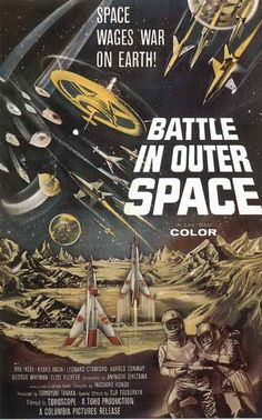 Battle In Outer Space (1959) - Ishiro Honda DVD