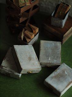 miniature* box いろいろ : natural色の生活~handmade家具