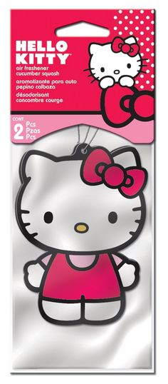 Black Friday Hello Kitty Air Freshener - Strawberry Scent - 2 Pack from  Plasticolor 4ba880da0b