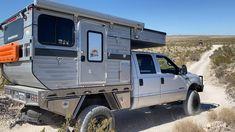 Best Truck Camper, Off Road Camper Trailer, Rv Campers, Camper Trailers, Truck House, Desert Road, Overland Truck, Top Luxury Cars, Camper Makeover