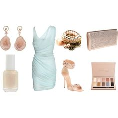 Summer Night at the Seaside, created by christine-mack on Polyvore