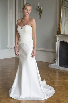 Paisley style by Augusta Jones now available at Nicole Bridal in Jenkintown, PA; 215-886-2333; www.nicolebridal.com