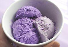 Found on sweet-s0rrow.tumblr.com via Tumblr  Purple ice-cream