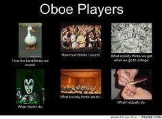 haha i used to play oboe ._.