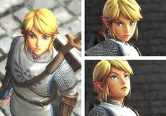Link from Hyrule Warriors. Wow. Much cuteness. Such hero. XD