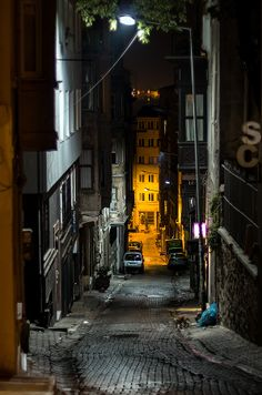 Photo Street in Galata, Istanbul by Alexander Jikharev on Betta Tattoo, Travel Around The World, Around The Worlds, Istanbul Travel, Story Instagram, Fake Photo, Old Street, Starling, World Of Color