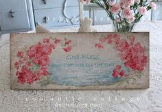 """I just love Crepe Myrtle!Celebration Sale!15% off our entire site! Enter the code """"SHABBY """" at checkout. www.debicoules.com  xo"""