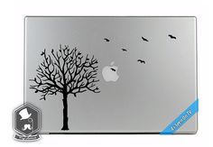 MacBook TV Commercial Birds Flying out of a Tree by VinylAptitude, $5.99