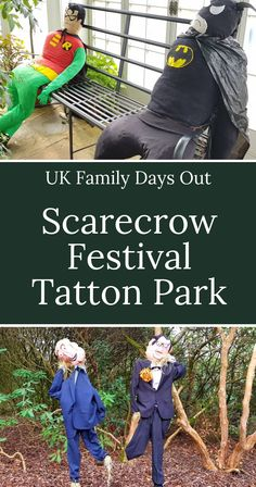 Tatton Park National Trust Scarecrow Festival : Days Out With Kids Scarecrow Festival, Diy Scarecrow, Days Out With Kids, Family Days Out, Superhero Characters, Book Characters, Disney Characters, Annual Leave, Ghost Costumes