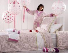 Linge de lit pour fillette Catimini