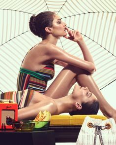 With the summer season heating up, the latest issue of How to Spend It Magazine from the Financial Times offers inspiration for the warm weather season. Photographer Andrew Yee (Atelier Management) captures models Auguste Abeliunaite, Charlotte Wiggins and Xannie Cater soaking up the sun's rays. The trio poses in looks from the spring collections featuring …